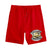 RUNTZ DIAMOND SHORT - RED
