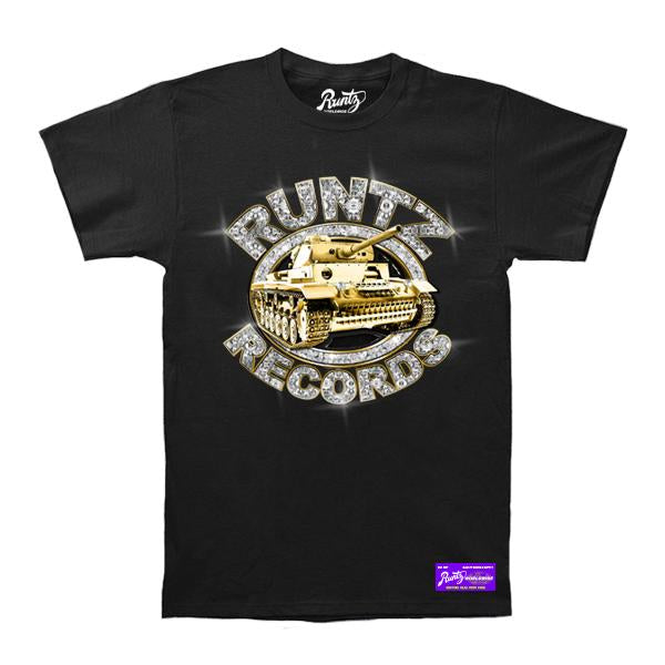 RUNTZ SOLDIERS TEE - BLACK