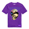 RUNTZ SKULL TEE - PURPLE