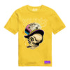 RUNTZ SKULL TEE - YELLOW