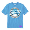RUNTZ JOKES UP TEE - BABY BLUE
