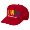 SOLID RAINBOW RUNTZ TRUCKER HAT- RED