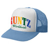 RAINBOW RUNTZ TRUCKER HAT- BABY BLUE