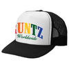 RAINBOW RUNTZ TRUCKER HAT- BLACK