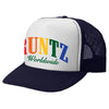 RAINBOW RUNTZ TRUCKER HAT-NAVY