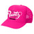 SOLID RUNTZ WORLDWIDE TRUCKER HAT - FUCSHIA