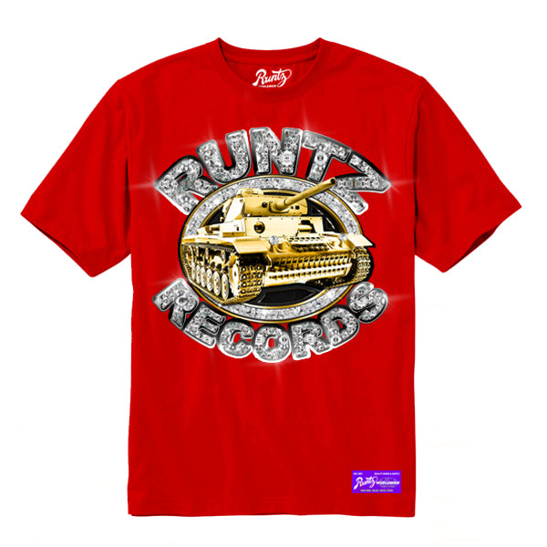 RUNTZ DIAMONDS TEE - RED