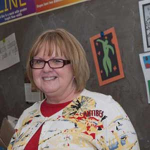 [image: Debbie Coppock, October Educator of the Month