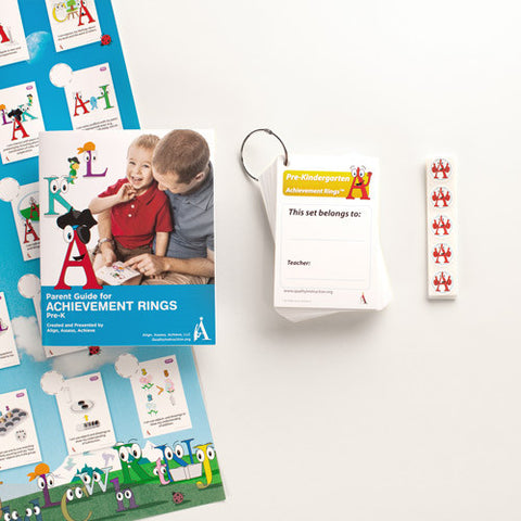 Pre-K Achievement Rings Home Learning Kit