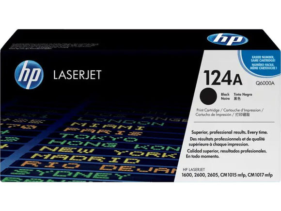 HP 124A Black Toner Cartridge