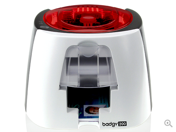 Badgy200 card printer