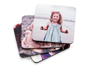 Set of 6 Shaped Coasters - Customize it!