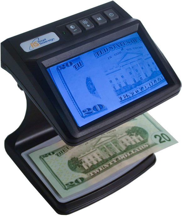 Royal Sovereign Dual Band Infrared Camera Counterfeit Detector