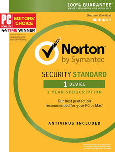 Norton Antivirus for 1 PC
