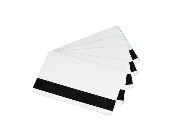 PVC White Cards With HICO Magnetic Stripe