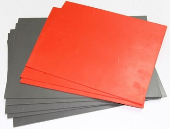 A4 Rubber sheets for Stamps