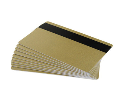 PVC Gold Cards With Magnetic Stripe