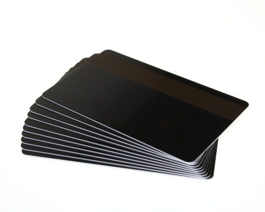 PVC HiCo Matt Black Cards