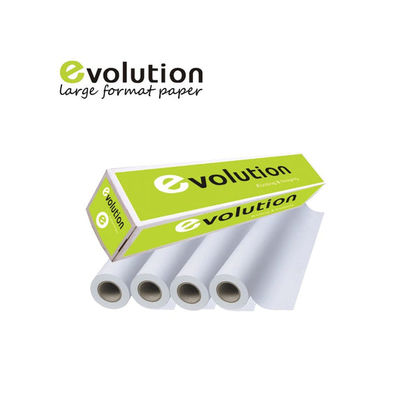 Evolution Premium Coated Paper - 2in Core, 610mm - 120gr