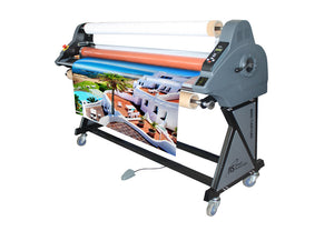 "1653H - 65"" Heat Assist Top Roller Wide Format Roll Laminator"
