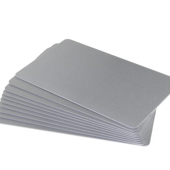 PVC Blank Silver Cards