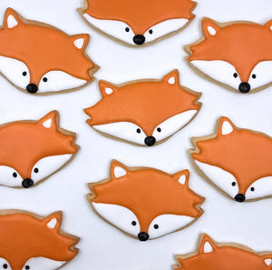 Thanksgiving Fox Cookies