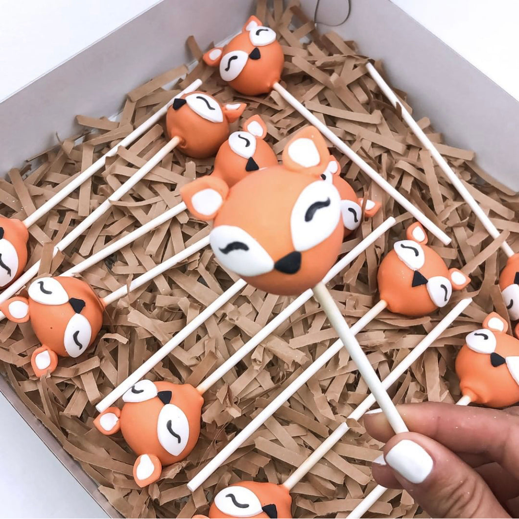 Thanksgiving Fox Cakepops