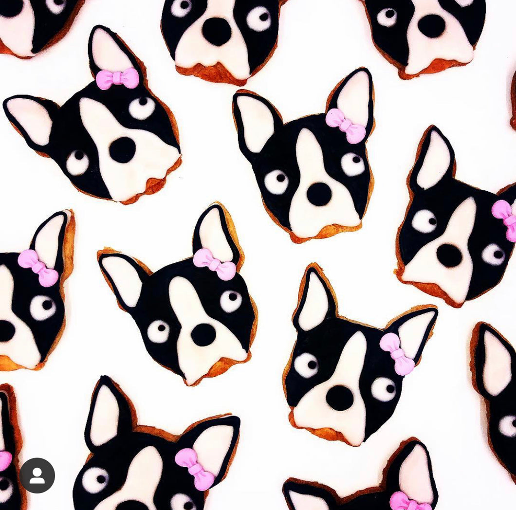 I love my Frenchie Cookies