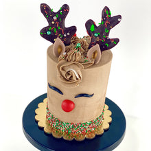 Load image into Gallery viewer, Holiday Rudolph Cake