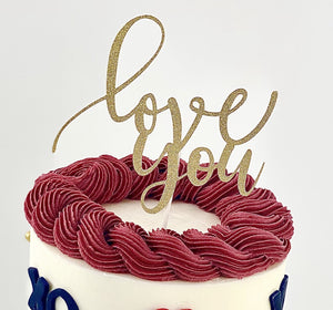 Fancy Cake Topper