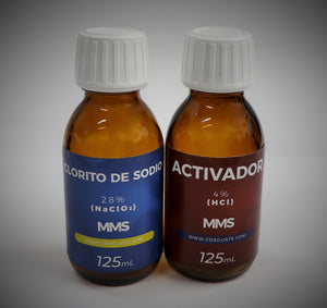 MMS - (125 ml / 125 ml) - KIT