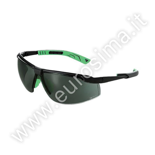 Univet with Green Safety Glass