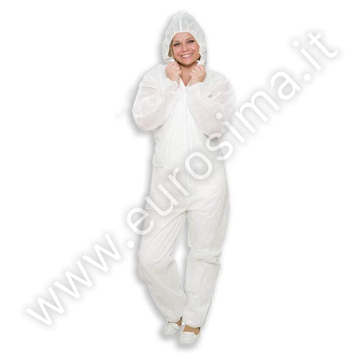 TNT protective suit with hood and zip