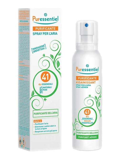 Purificante Spray Puressentiel per l'Aria  41 Oli Essenziali 500 ml