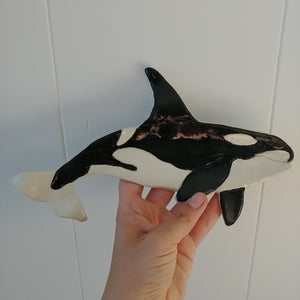 Pottery for peace orca spoon rest