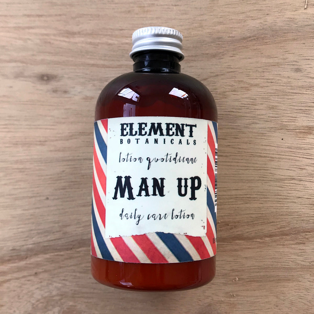 Element Botanicals Man Up daily lotion