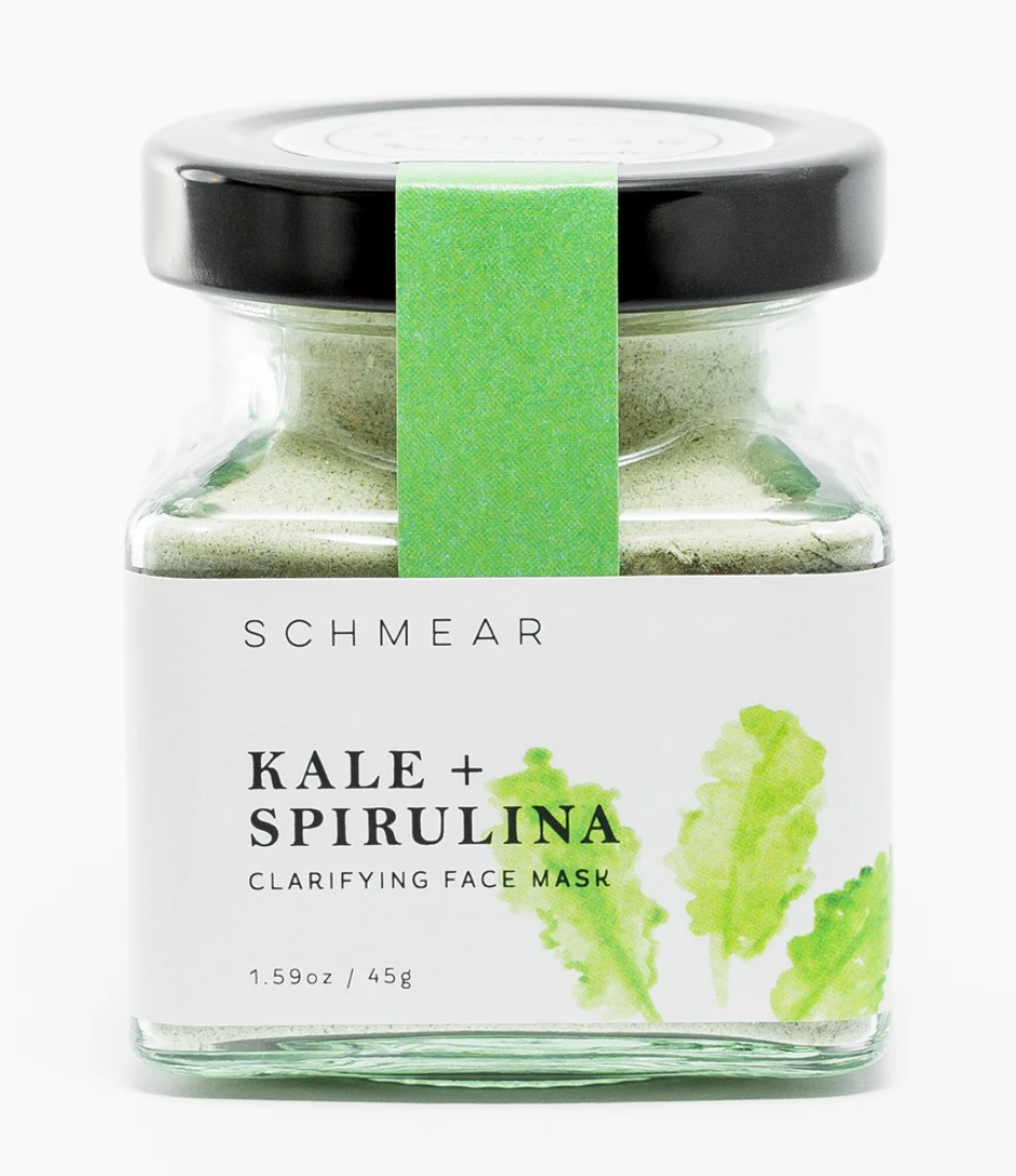 Kale and spirulina schmear face mask 45g