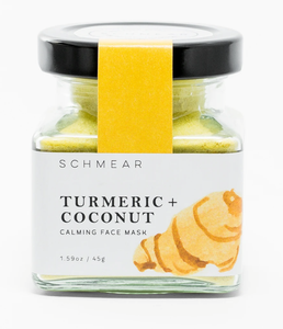 Turmeric and coconut schmear mask 45g