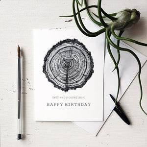 Happy Birthday (But Who's Counting) Card
