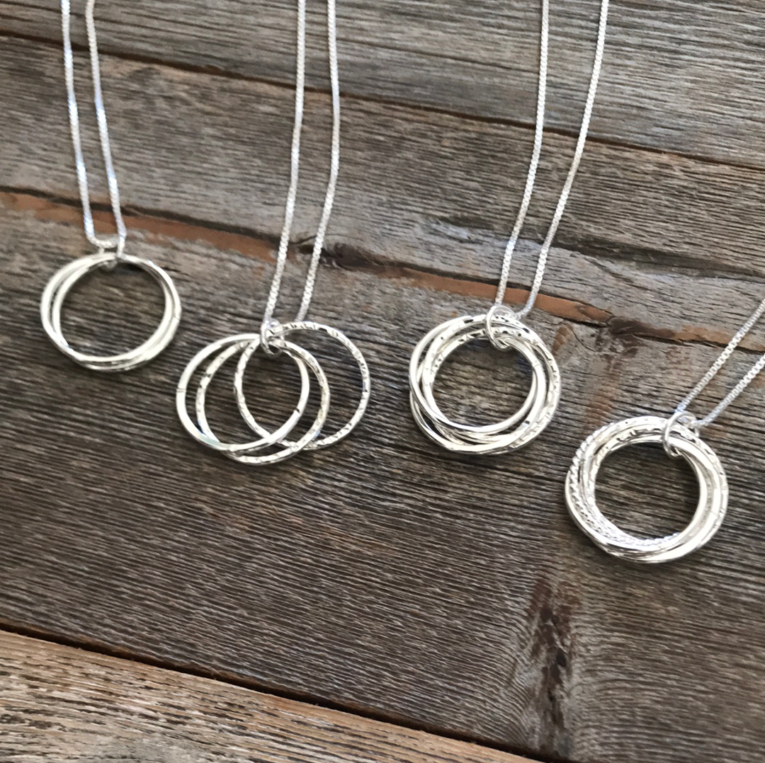 Elements Gallery Family Circle Necklaces