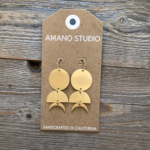 Amano Celestial Geometry Earrings