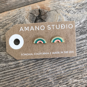 Amano Studio Turquoise Rainbow Earrings