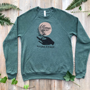 Nature is Magic Fleece Raglan