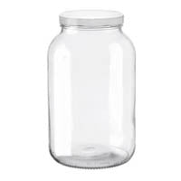 Wide Mouth Bottles - Glass