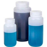 Wide Mouth Bottles - Plastic