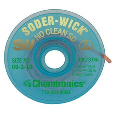 Chemtronics Soder-Wick No Clean - 60-3-10