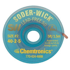 Chemtronics Soder-Wick Lead-Free - 40-2-5