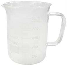 BEAKER w/ GLASS HANDLE 1000ML