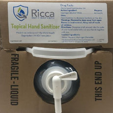 RICCA Hand Sanitizer 10L Dispensing Cube R4219000‐10F