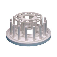 Plastic Test Tube Rack, Round, 12-Tube - 77704